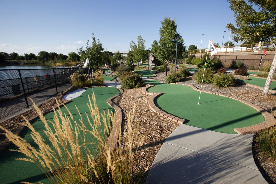Aqua Golf miniature golf course in Denver
